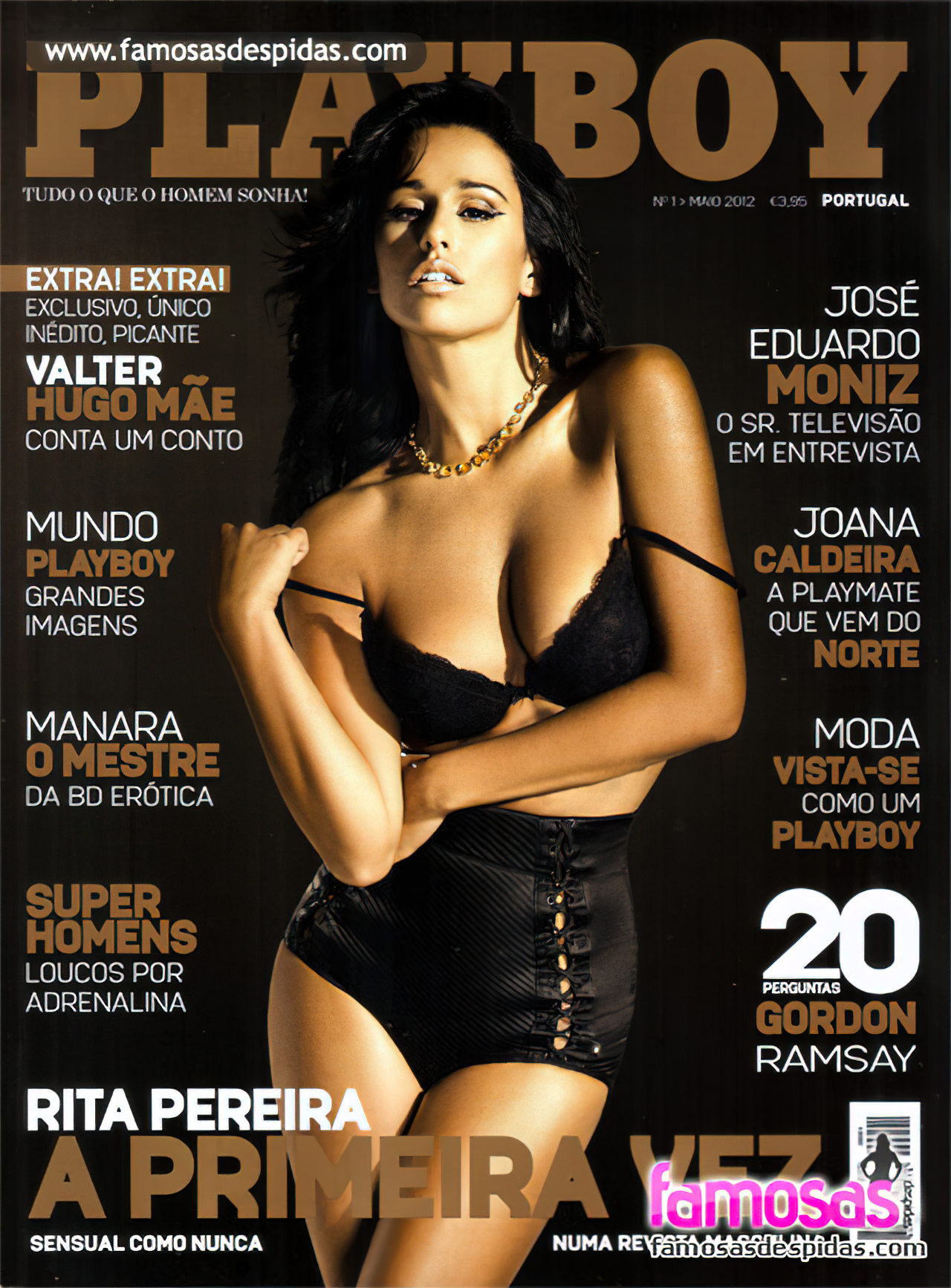 Rita Pereira na Playboy (1)