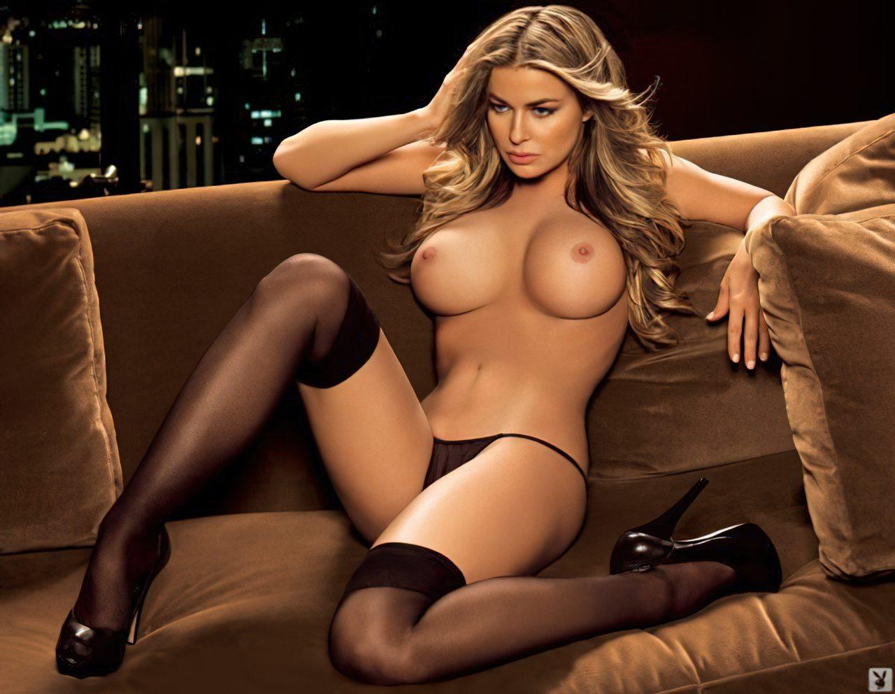 Uma das Beldades da Playboy