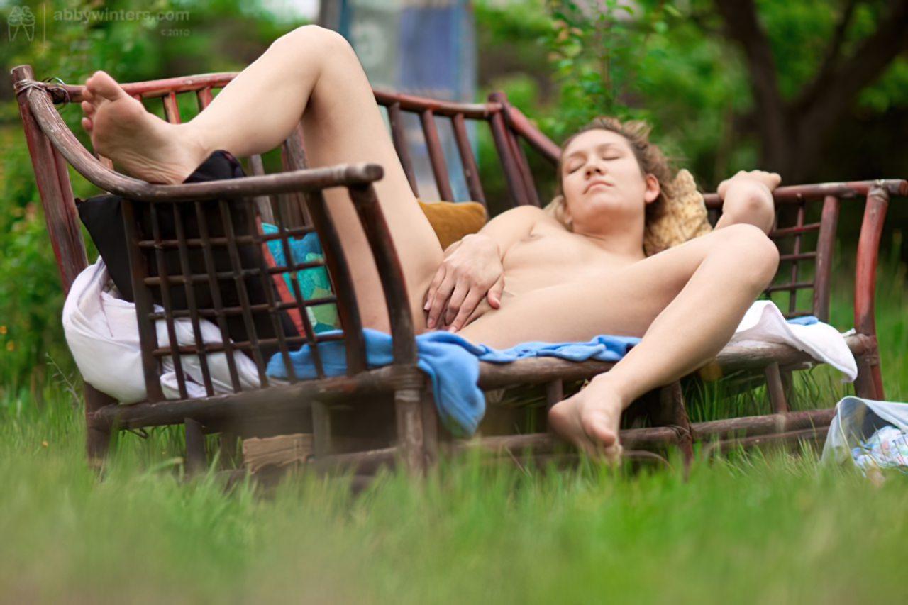 Masturbação no Jardim