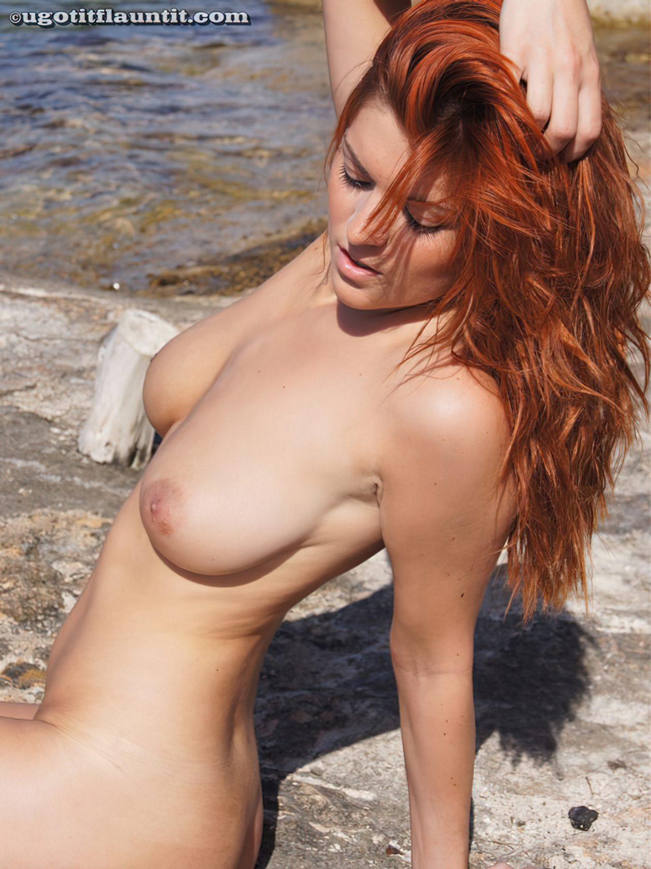 Ruiva na Praia (18)