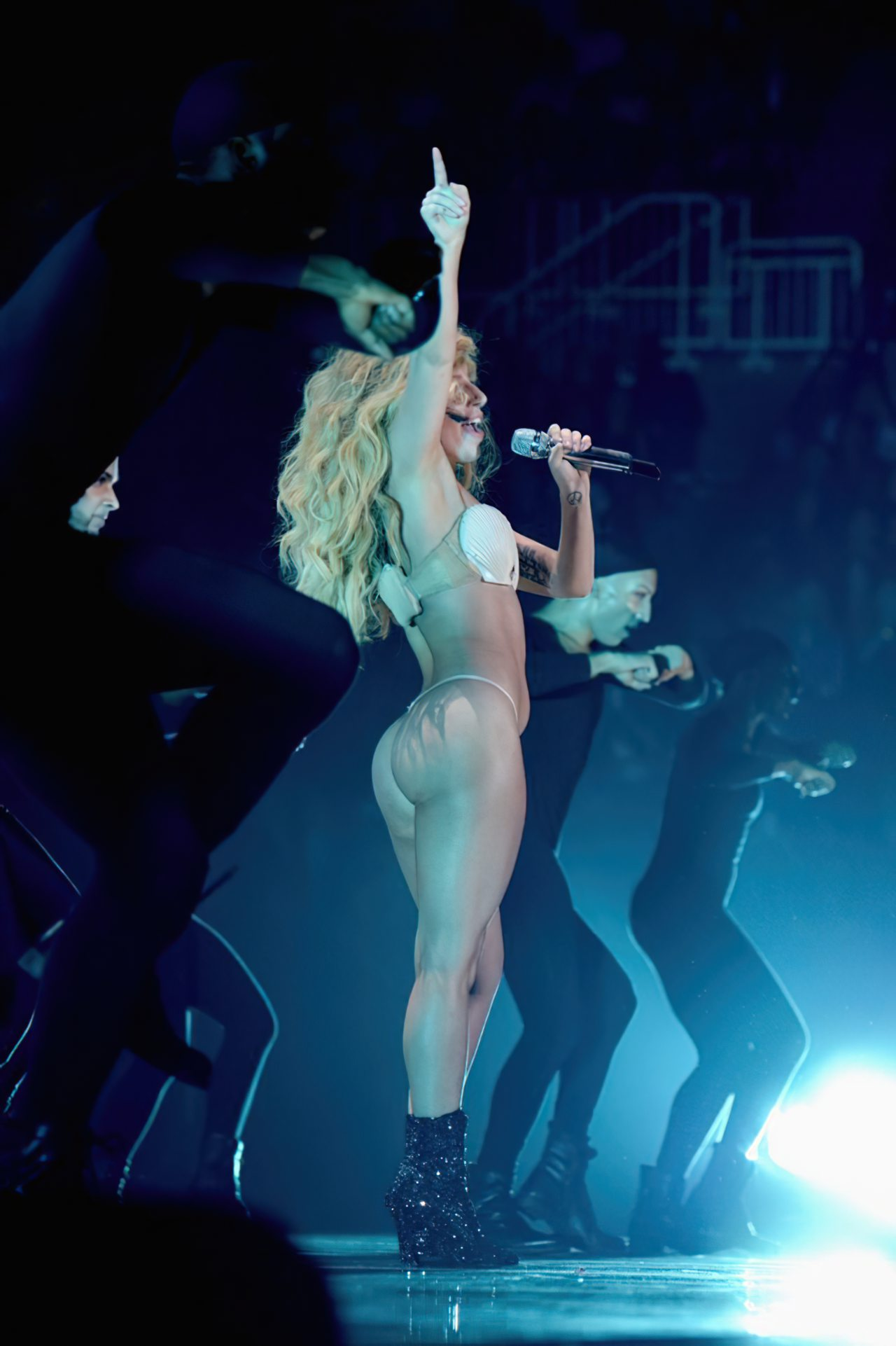 Lady Gaga Biquini (4)