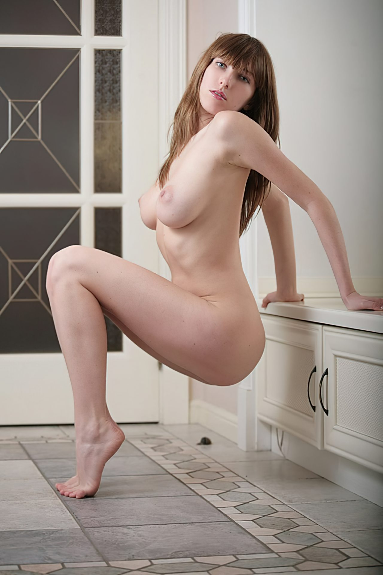 Mulher Ruiva Corpo Natural