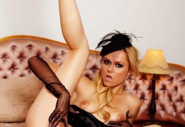 Modelo Sexy sem Calcinha (1)