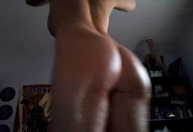 Dançando Nua na Webcam