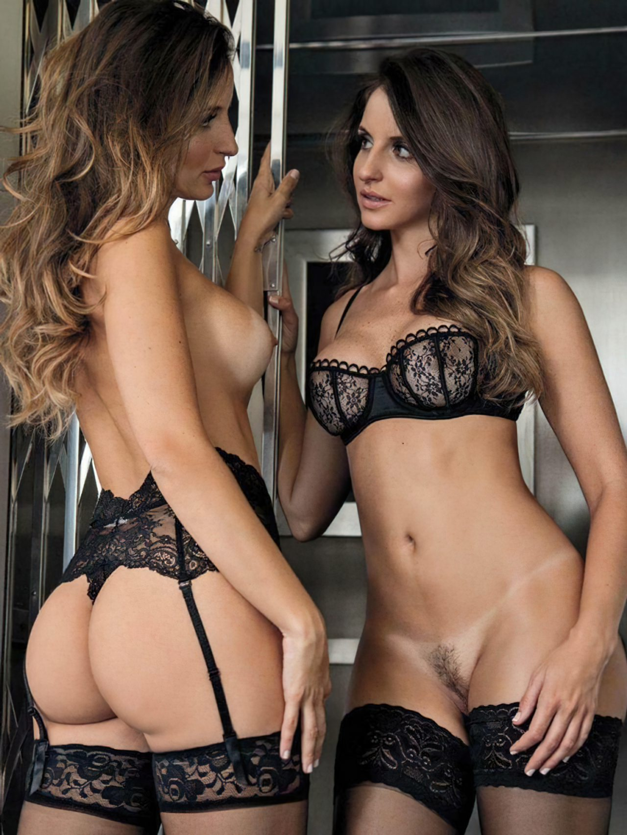 Debora e Denise Tubino Playboy (6)