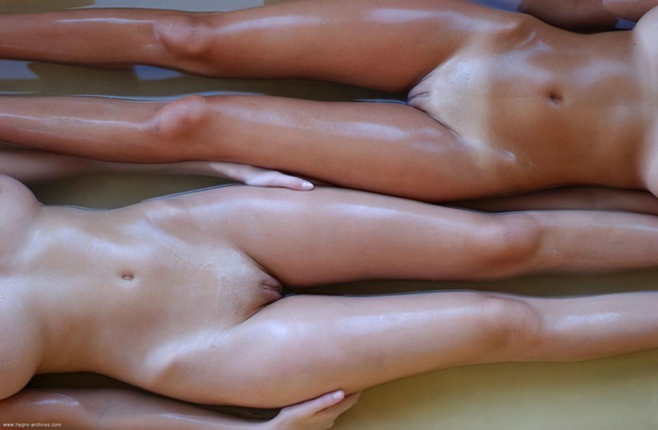 Lésbicas num Banho (6)