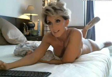 Coroa na Webcam
