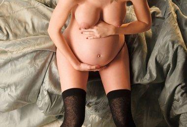 Mulher Gravida Sexy