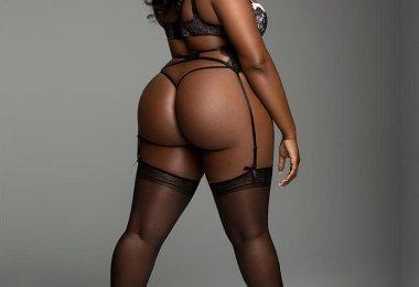 Negra Sedutora Gordinha