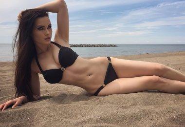 Niece Waidhofer na Praia