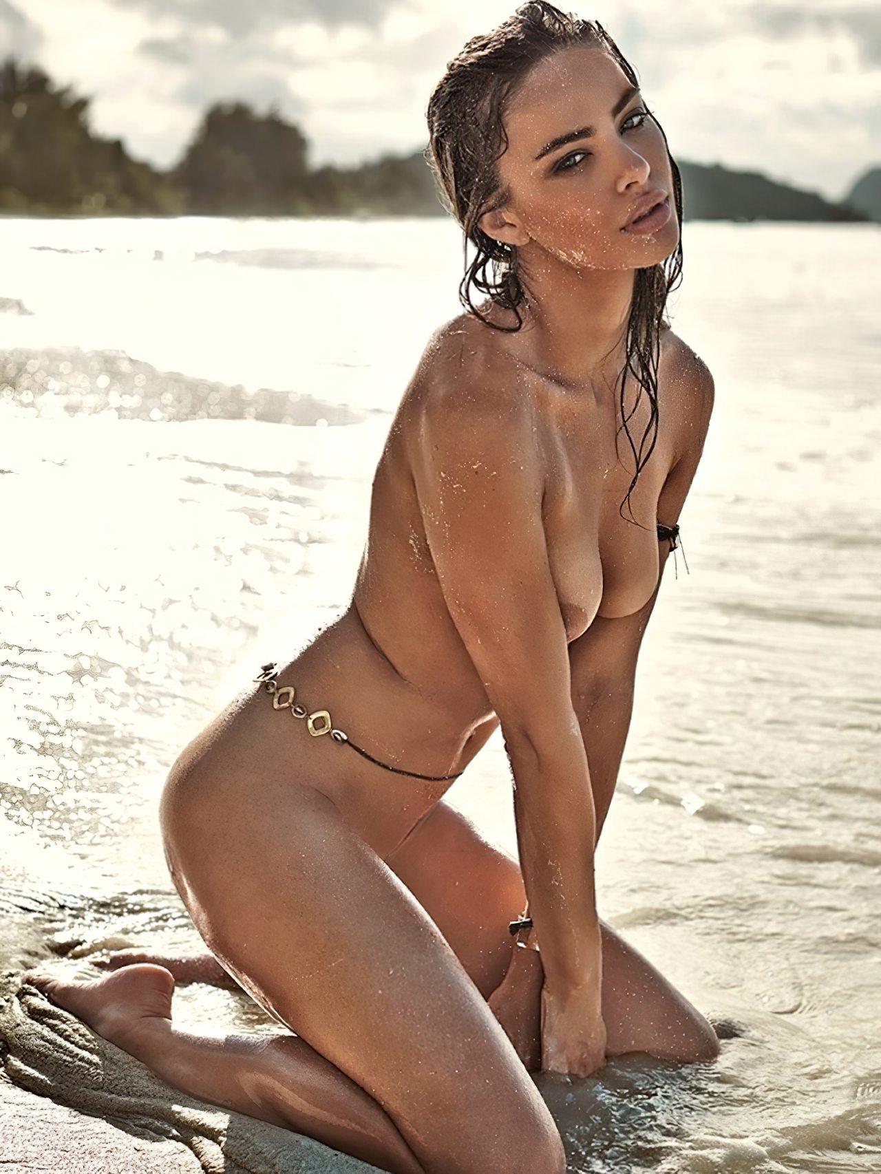 Nicole Meyer Nua na Praia (9)
