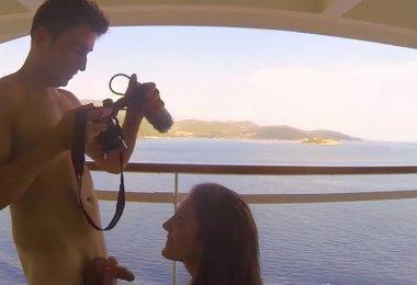 Casal Fazendo Sexo Barco