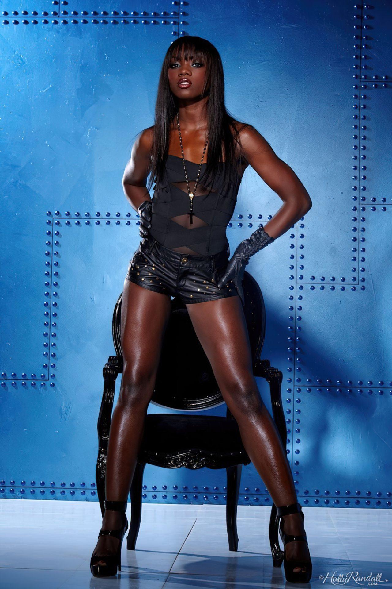 Ana Foxx Lingerie Negra (1)