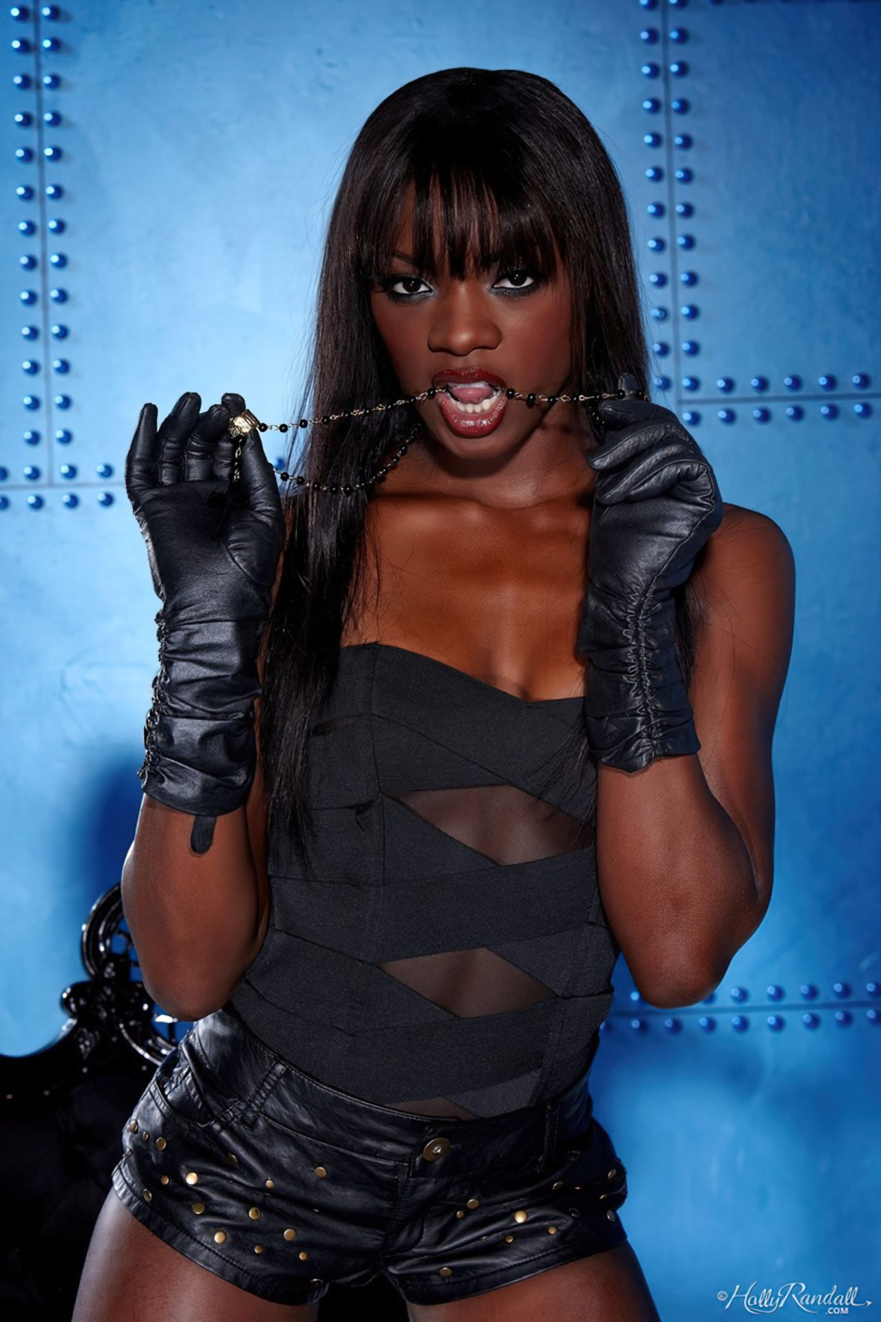 Ana Foxx Lingerie Negra (2)