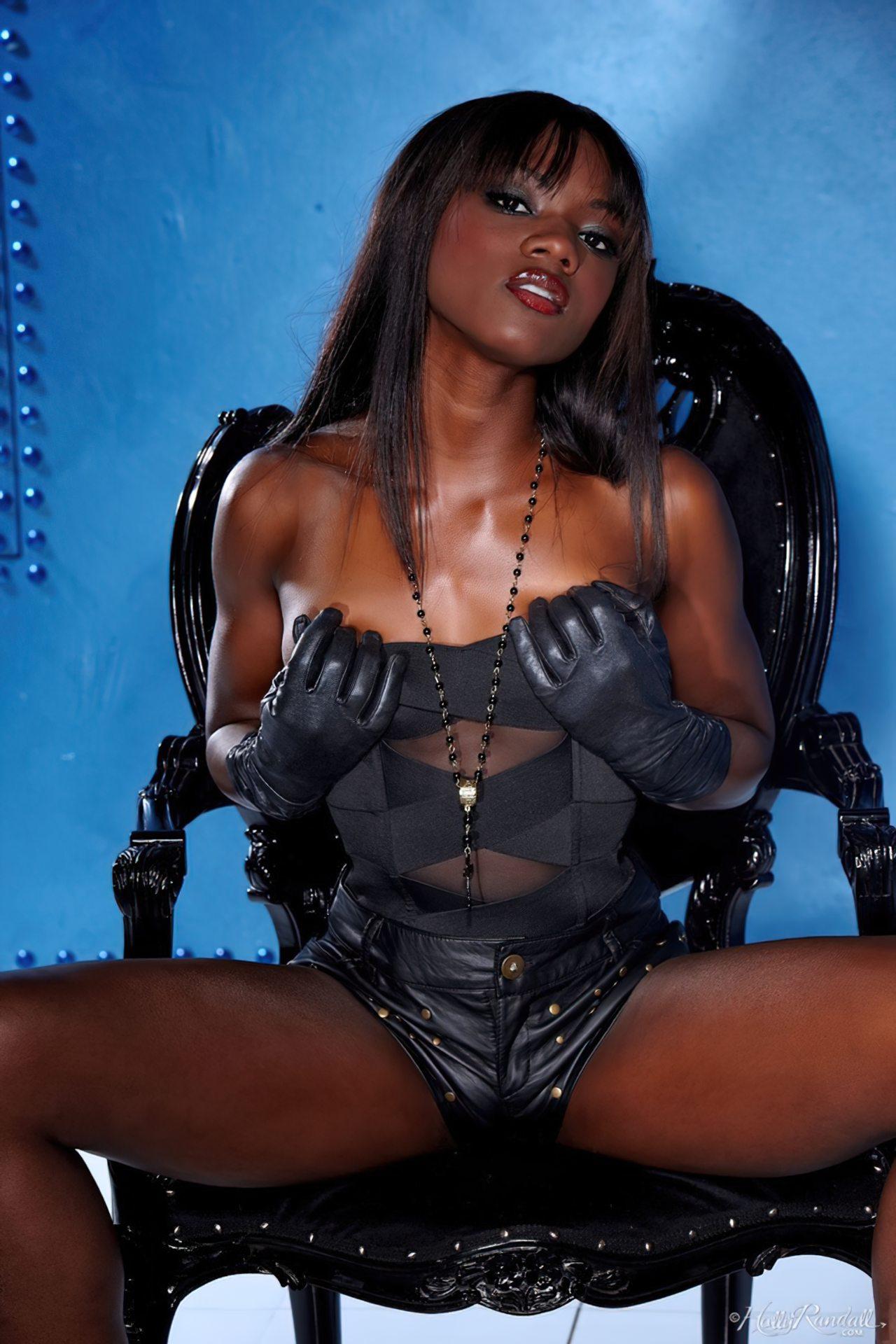 Ana Foxx Lingerie Negra (3)