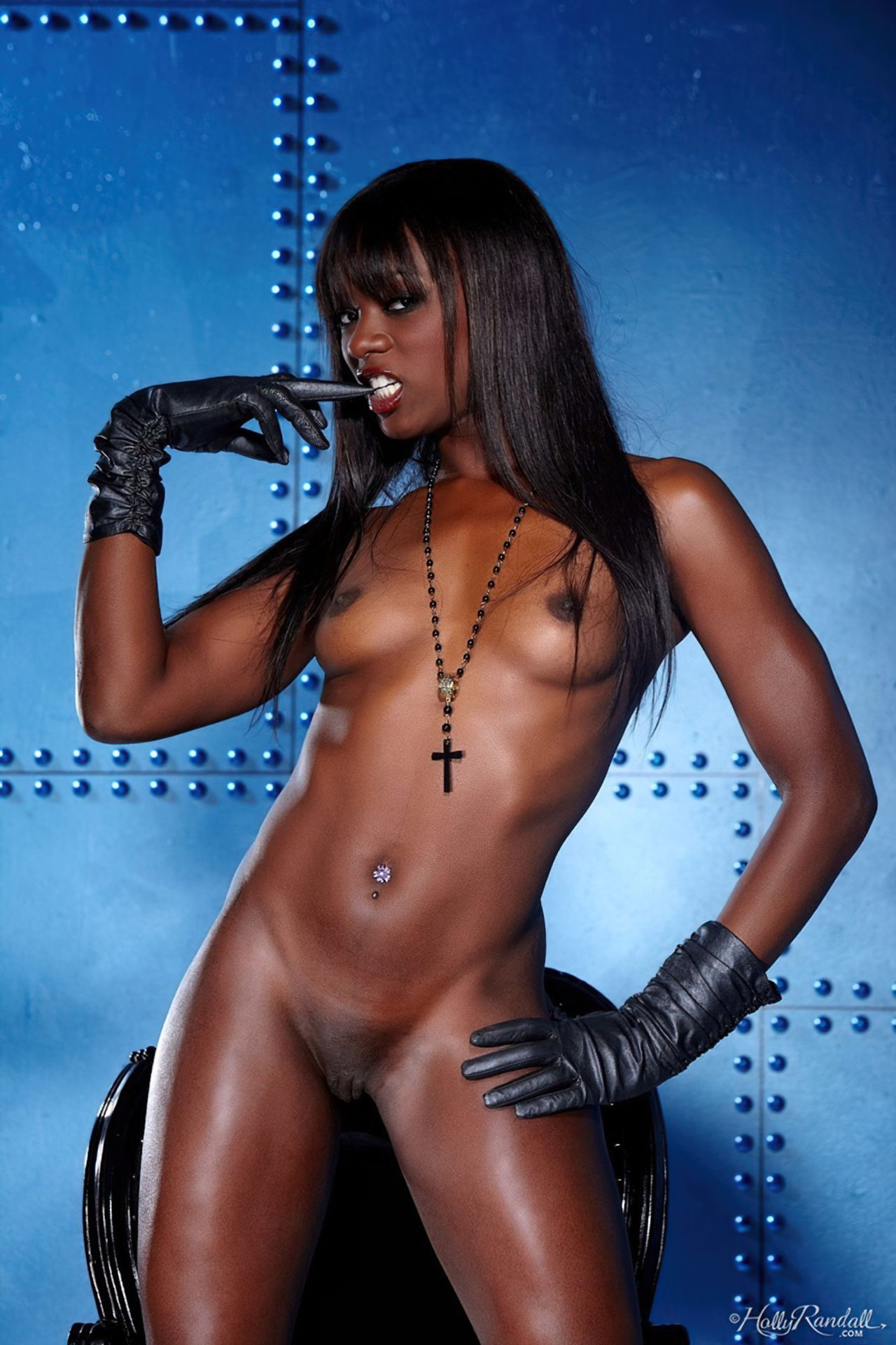 Ana Foxx Lingerie Negra (7)