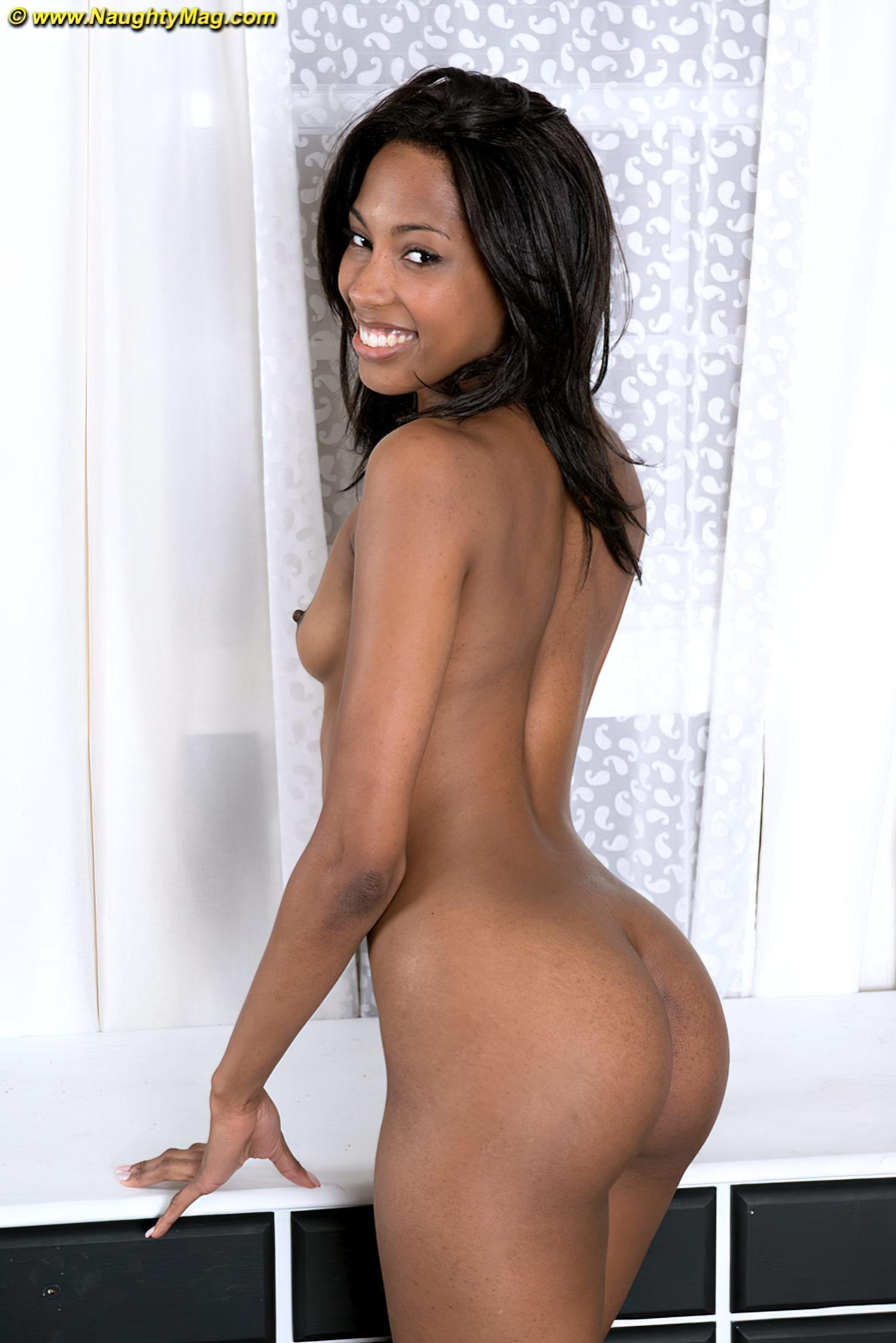 Negra Magrinha Fazendo Strip (11)