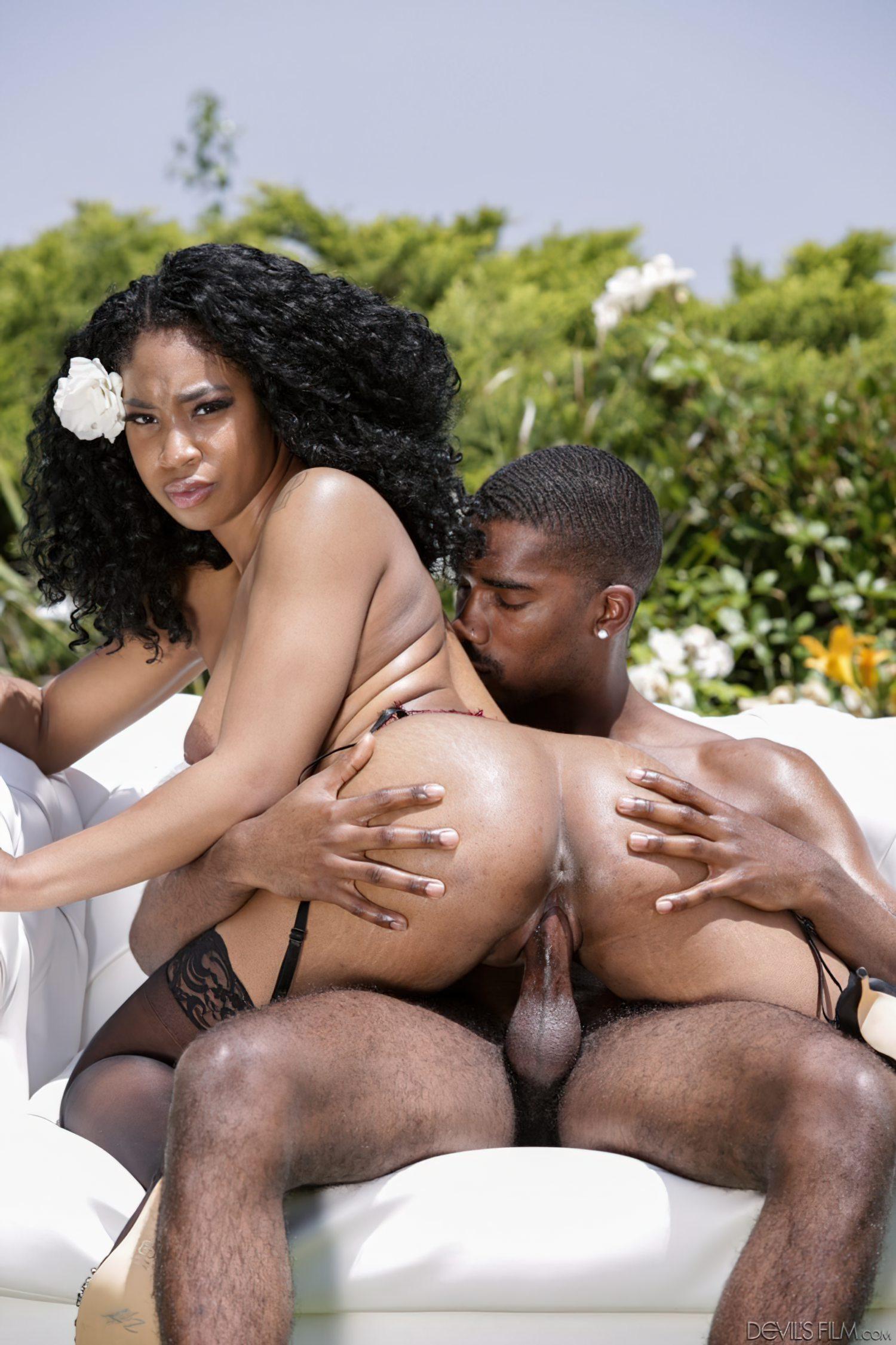 Sexo Morena Negra Jardim (10)
